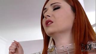 anal, babe, european, fetish, hardcore, licking, mistress, plug, pussy, sauna, slave, spanking, work