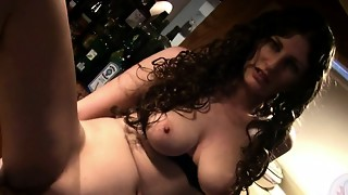 amateur, big tits, brunette, dirty, dirty talk, masturbation, milf, orgasm, solo, squirting, toys, wife