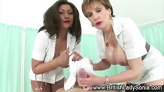 big tits, british, cum, cumshot, fetish, mature, nurse, russian, uniform