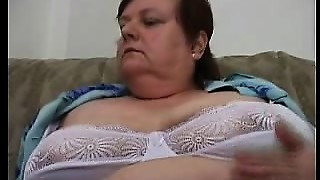 amateur, couch, curvy, granny, masturbation, mature, old and young
