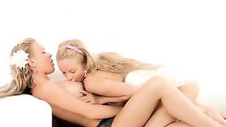 blonde, fingering, fuck, gorgeous, lesbian, teen, toys