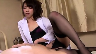 asian, femdom, fetish, foot fetish, japanese, milf, pov, stockings, subtitles
