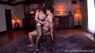 asian, babe, bdsm, big tits, blowjob, fuck, hardcore, japanese, massive, stockings, tan