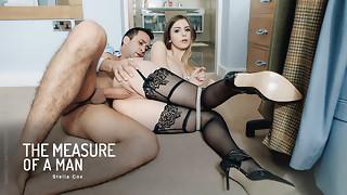 big ass, big tits, blowjob, hardcore, hd videos, natural, office, redhead, stockings